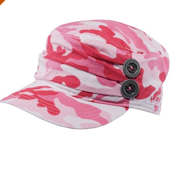f8b9c359e1f419 Cabela's Accessories   Cabelas Womens Military Style Cap Pink Camo ...